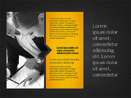 Business Presentation Slides, Slide 11, 03180, Presentation Templates — PoweredTemplate.com
