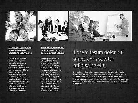 Business Presentation Slides, Slide 15, 03180, Presentation Templates — PoweredTemplate.com