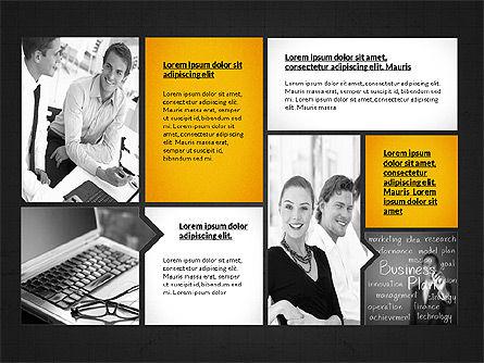 Business Presentation Slides, Slide 9, 03180, Presentation Templates — PoweredTemplate.com
