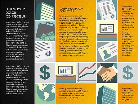 Presentation with Business Illustrations, Slide 10, 03183, Presentation Templates — PoweredTemplate.com