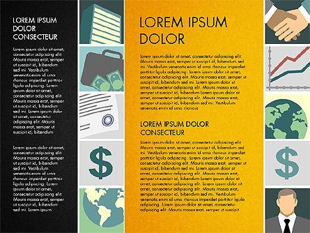 Presentation with Business Illustrations, Slide 11, 03183, Presentation Templates — PoweredTemplate.com