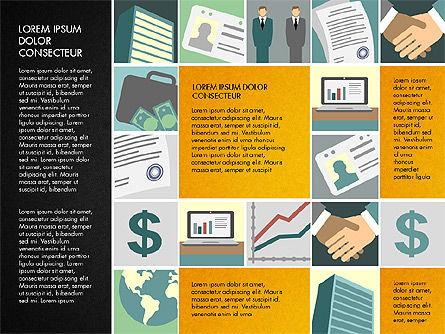 Presentation with Business Illustrations, Slide 14, 03183, Presentation Templates — PoweredTemplate.com