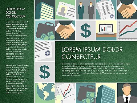 Presentation with Business Illustrations, Slide 5, 03183, Presentation Templates — PoweredTemplate.com