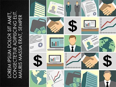 Presentation with Business Illustrations, Slide 9, 03183, Presentation Templates — PoweredTemplate.com