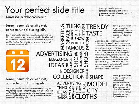 Fashion Word Cloud Presentation Concept, Slide 5, 03184, Presentation Templates — PoweredTemplate.com