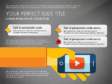 Mobile Application Presentation Template, Slide 10, 03186, Presentation Templates — PoweredTemplate.com