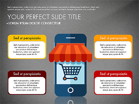 Mobile Application Presentation Template, Slide 11, 03186, Presentation Templates — PoweredTemplate.com