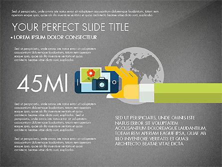 Mobile Application Presentation Template, Slide 13, 03186, Presentation Templates — PoweredTemplate.com