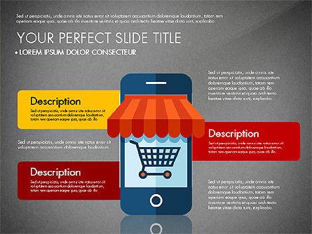 Mobile Application Presentation Template, Slide 15, 03186, Presentation Templates — PoweredTemplate.com