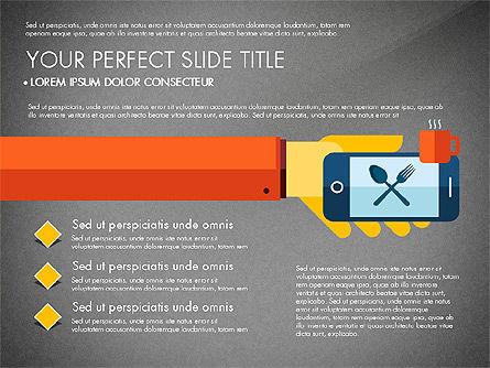 Mobile Application Presentation Template, Slide 16, 03186, Presentation Templates — PoweredTemplate.com