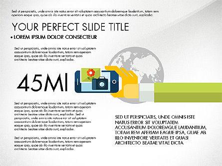 Mobile Application Presentation Template, Slide 5, 03186, Presentation Templates — PoweredTemplate.com