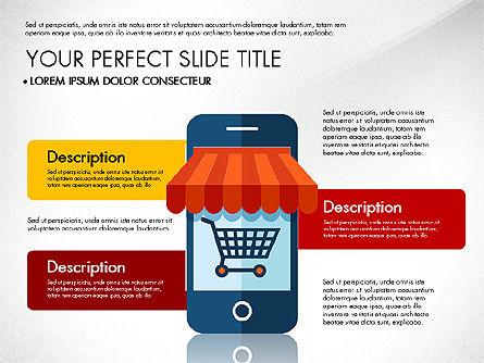 Mobile Application Presentation Template, Slide 7, 03186, Presentation Templates — PoweredTemplate.com