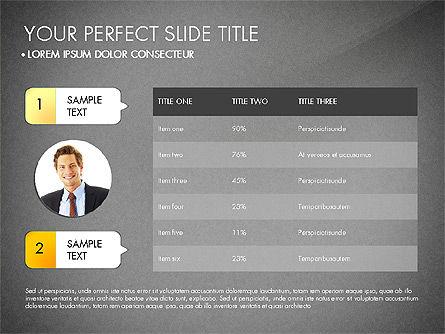 Personal Finance Presentation Concept, Slide 14, 03187, Presentation Templates — PoweredTemplate.com