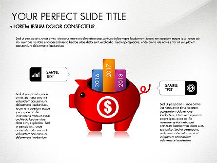 Personal Finance Presentation Concept, Slide 4, 03187, Presentation Templates — PoweredTemplate.com