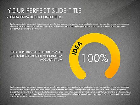 Success Concept Presentation, Slide 10, 03188, Presentation Templates — PoweredTemplate.com