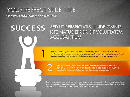 Success Concept Presentation, Slide 11, 03188, Presentation Templates — PoweredTemplate.com