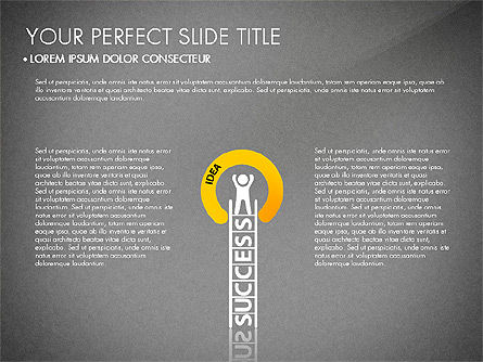 Success Concept Presentation, Slide 12, 03188, Presentation Templates — PoweredTemplate.com