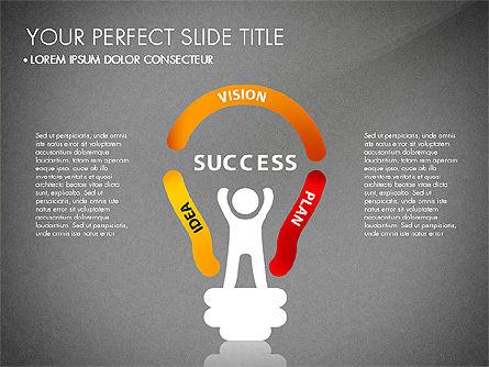 Success Concept Presentation, Slide 13, 03188, Presentation Templates — PoweredTemplate.com