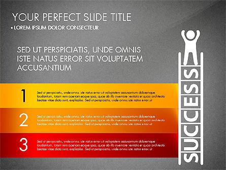 Success Concept Presentation, Slide 16, 03188, Presentation Templates — PoweredTemplate.com