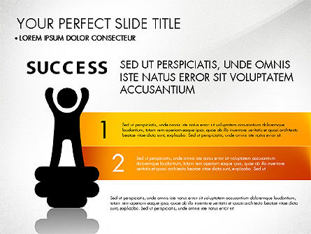 Success Concept Presentation, Slide 3, 03188, Presentation Templates — PoweredTemplate.com