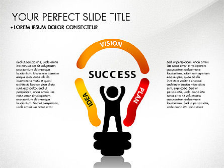 Success Concept Presentation, Slide 5, 03188, Presentation Templates — PoweredTemplate.com