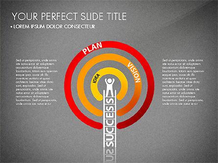 Success Concept Presentation, Slide 9, 03188, Presentation Templates — PoweredTemplate.com