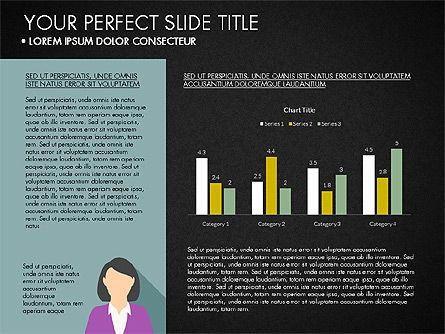 Company Profile with Data Driven Charts, Slide 10, 03189, Presentation Templates — PoweredTemplate.com
