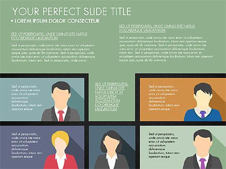 Company Profile with Data Driven Charts, Slide 12, 03189, Presentation Templates — PoweredTemplate.com