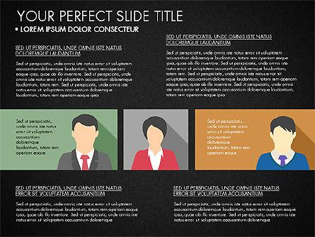 Company Profile with Data Driven Charts, Slide 13, 03189, Presentation Templates — PoweredTemplate.com