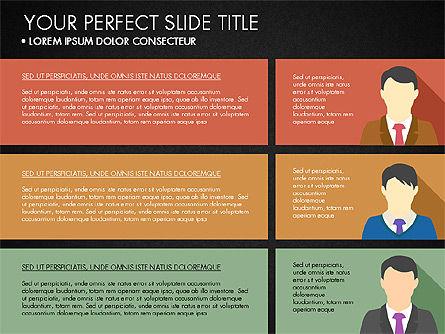 Company Profile with Data Driven Charts, Slide 14, 03189, Presentation Templates — PoweredTemplate.com