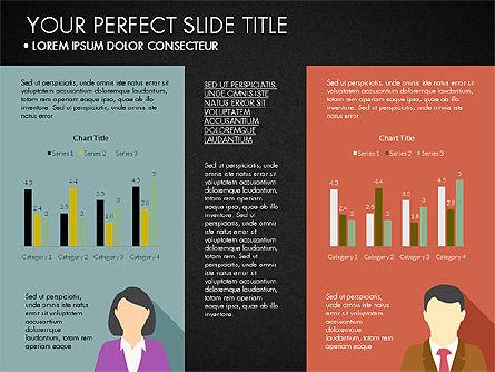 Company Profile with Data Driven Charts, Slide 15, 03189, Presentation Templates — PoweredTemplate.com