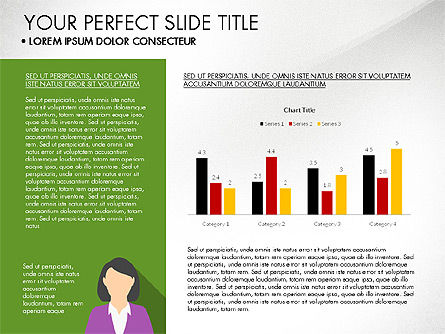 Company Profile with Data Driven Charts, Slide 2, 03189, Presentation Templates — PoweredTemplate.com