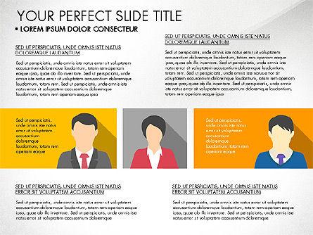 Company Profile with Data Driven Charts, Slide 5, 03189, Presentation Templates — PoweredTemplate.com