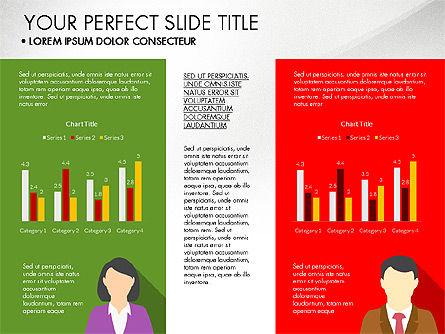Company Profile with Data Driven Charts, Slide 7, 03189, Presentation Templates — PoweredTemplate.com