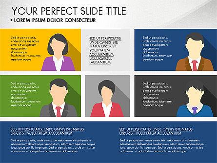 Company Profile with Data Driven Charts, Slide 8, 03189, Presentation Templates — PoweredTemplate.com
