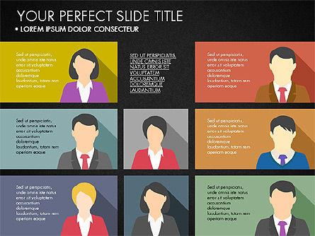 Company Profile with Data Driven Charts, Slide 9, 03189, Presentation Templates — PoweredTemplate.com