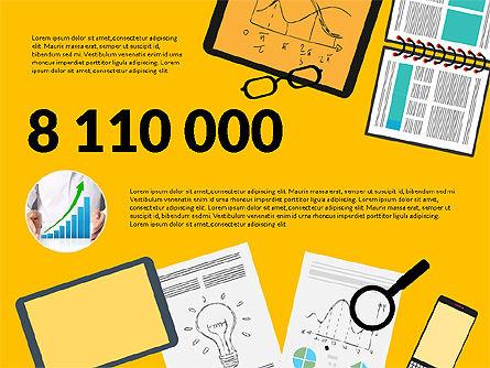 Team Report Presentation Template, Slide 8, 03190, Presentation Templates — PoweredTemplate.com