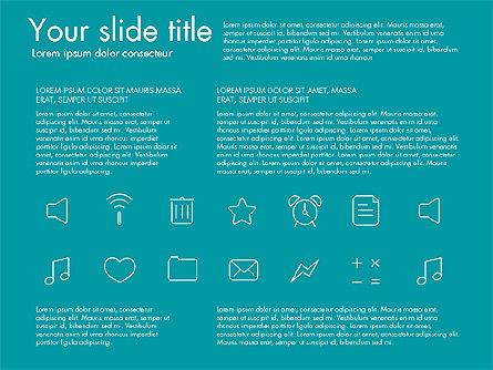 Thin Line Icons Slide 2