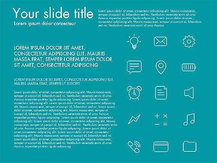 Thin Line Icons Slide 3