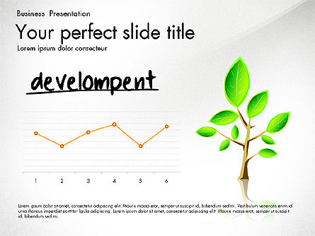 Growth and Approach Presentation Concept, Slide 5, 03193, Data Driven Diagrams and Charts — PoweredTemplate.com
