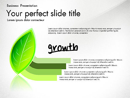 Growth and Approach Presentation Concept, Slide 6, 03193, Data Driven Diagrams and Charts — PoweredTemplate.com