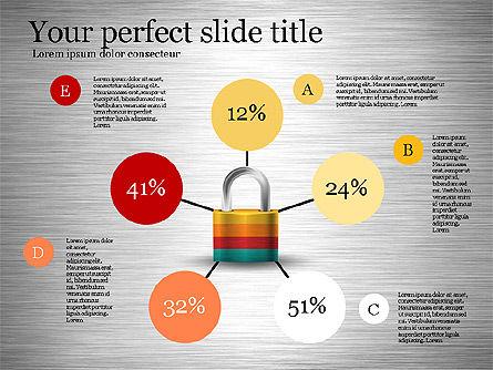 Security Diagram, Slide 2, 03194, Organizational Charts — PoweredTemplate.com