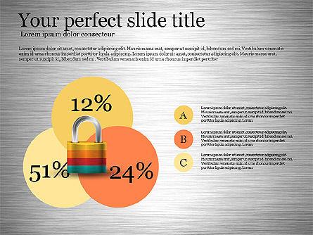 Security Diagram, Slide 3, 03194, Organizational Charts — PoweredTemplate.com