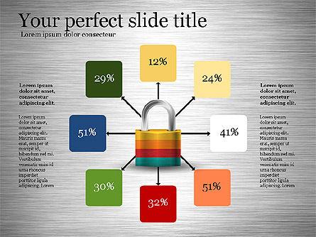 Security Diagram, Slide 4, 03194, Organizational Charts — PoweredTemplate.com
