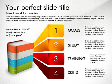 Education Presentation Concept, Slide 2, 03196, Education Charts and Diagrams — PoweredTemplate.com