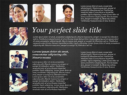Business Team Presentation with Photos, Slide 16, 03197, Presentation Templates — PoweredTemplate.com