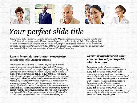 Business Team Presentation with Photos, Slide 3, 03197, Presentation Templates — PoweredTemplate.com