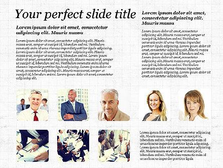 Business Team Presentation with Photos, Slide 5, 03197, Presentation Templates — PoweredTemplate.com