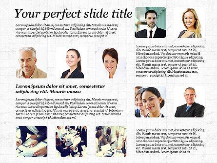 Business Team Presentation with Photos, Slide 6, 03197, Presentation Templates — PoweredTemplate.com