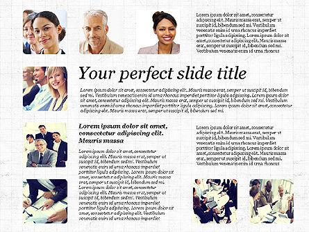 Business Team Presentation with Photos, Slide 8, 03197, Presentation Templates — PoweredTemplate.com